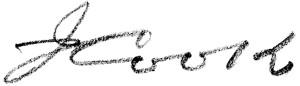 Cook's signature