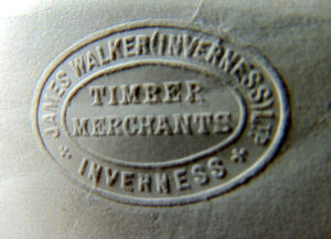 Walker's embossed envelope