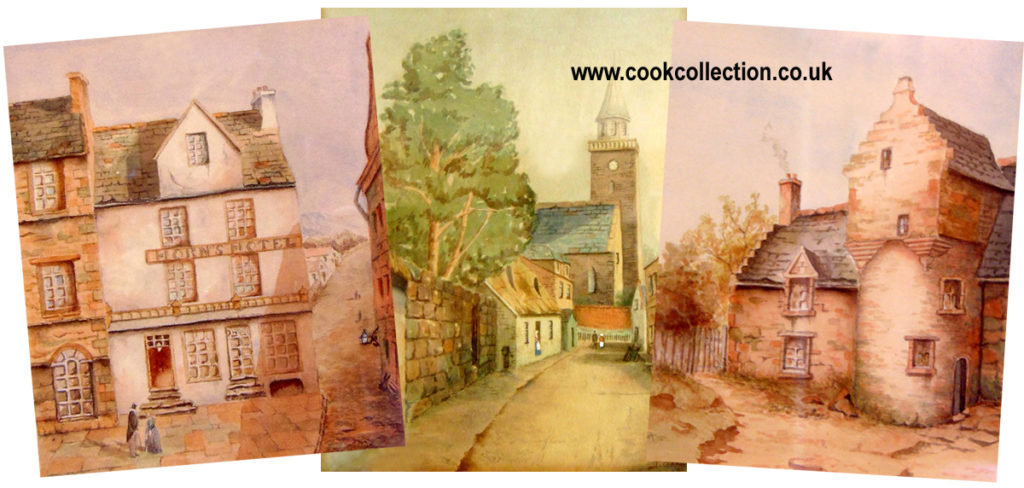 Watercolours by Joseph Cook