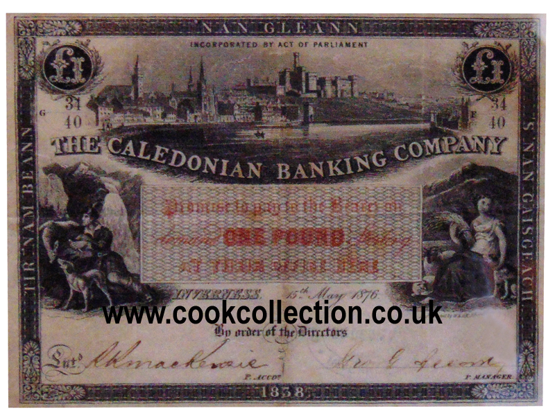 One pound banknote